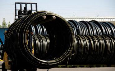 صادرات پلی اتیلن سنگین PE100